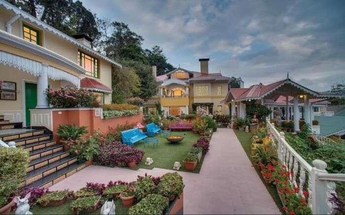 Mayfair is the best among the top resorts in Darjeeling