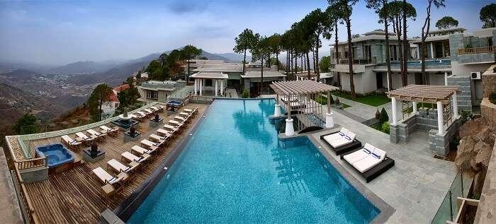 Moksha Spa in Parwanoo is one of the best resorts in Himachal near Chandigarh