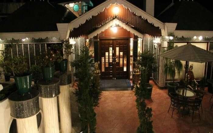Facade of RJ Resort
