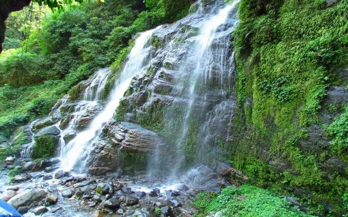 Refresh yourself around the Rimbi Waterfalls