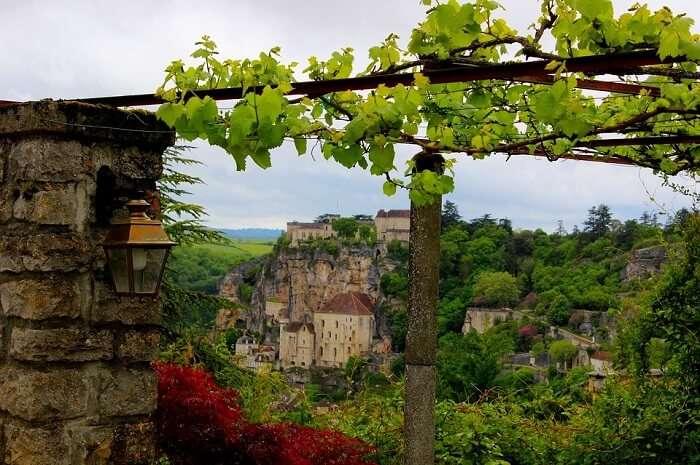 Village Landscape Lot Rocamadour France