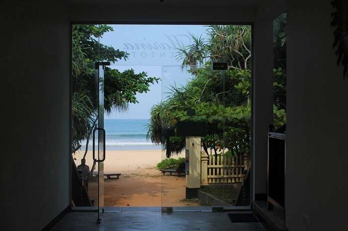 The amazing sea facing hotel booked by Kanika