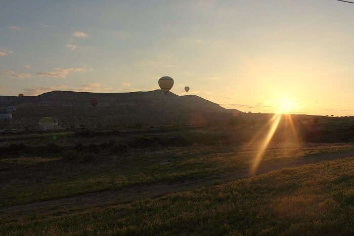 Hot air balloon is ride is one of the best attractions of Turkey