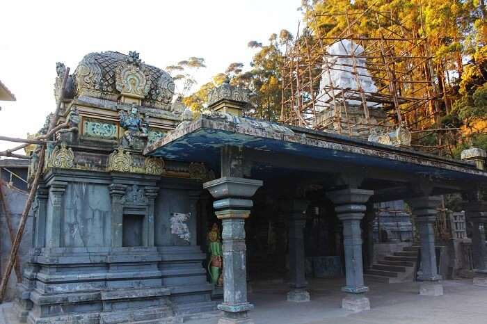 The famous Seetha Aman temple in Sri Lanka