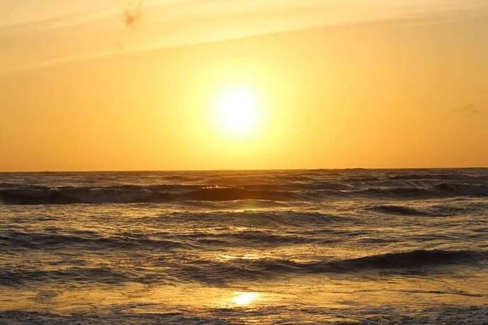 Catching the sunset in Bentota