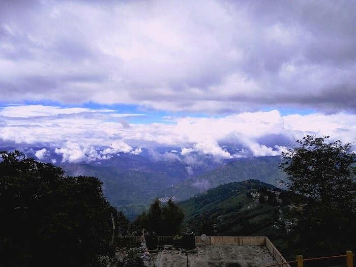 Darjeeling hill view