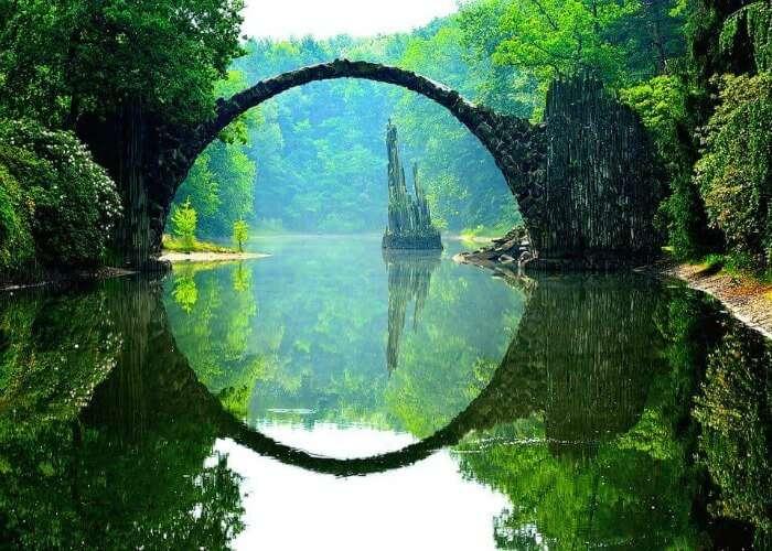 Mysterious devil's bridge
