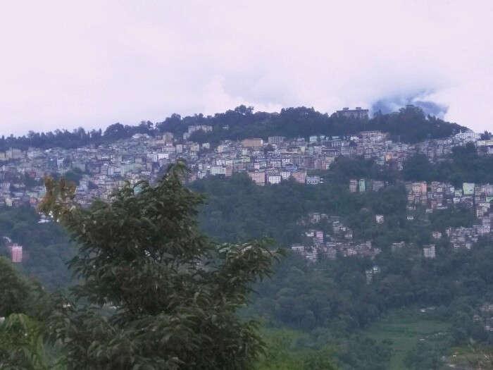 Gangtok overview