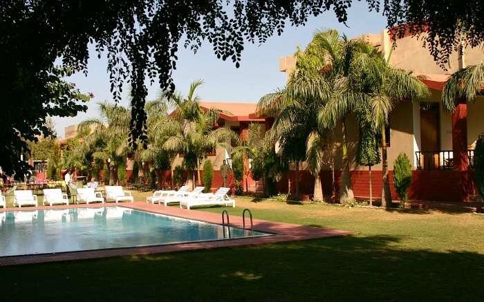 Enjoy luxurious stay at Ranthambore Regency Hotel near Ranthambore National Park