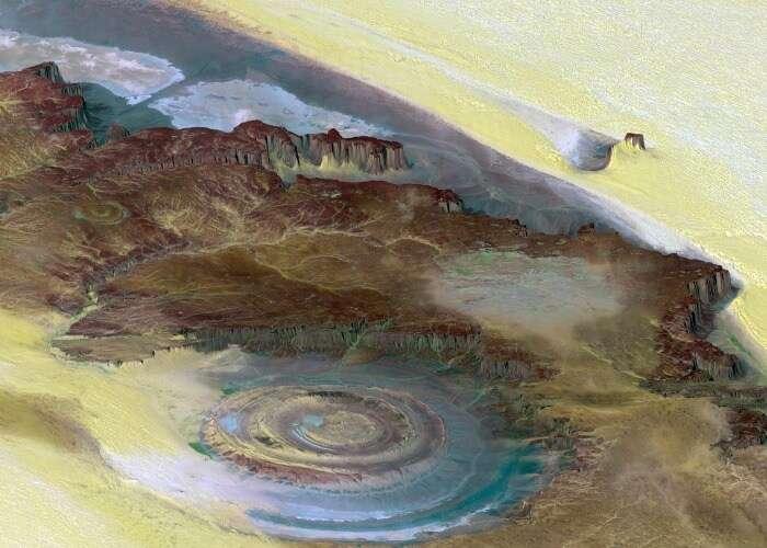 Mystical structure in Mauritania