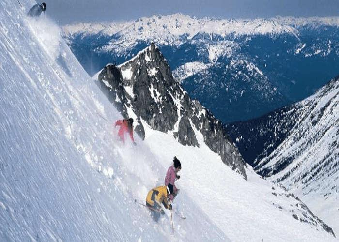 Skiing in Gulmarg is great fun