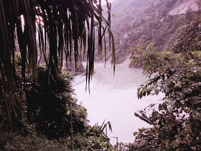 Tista river on way to Gangtok