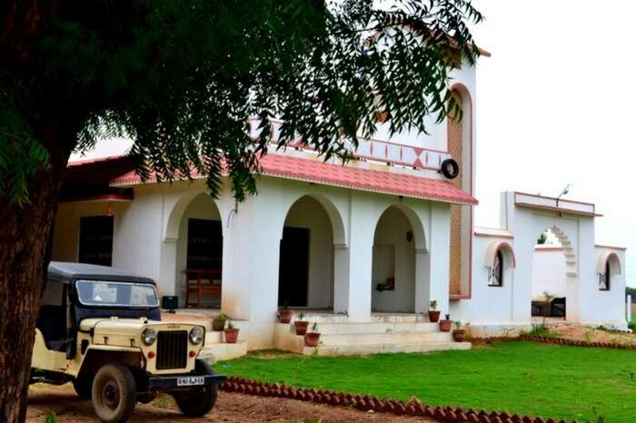 Farmhouse of The Country Retreat in Godwad region of Rajasthan