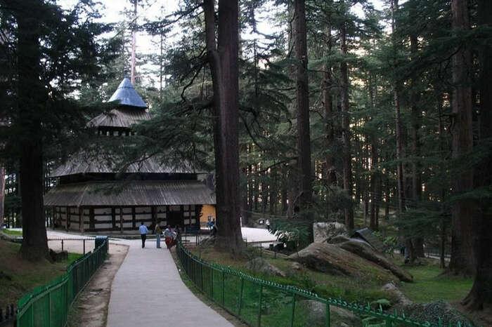 The Hadimba Devi Temple in Manali