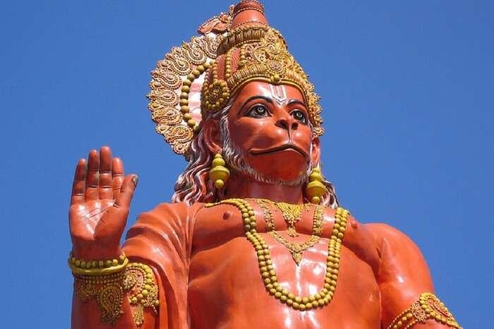 Hanuman Temple in Kalimpong