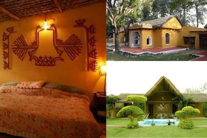 Rooms and garden views of Surjivan farmstay in Gurgaon