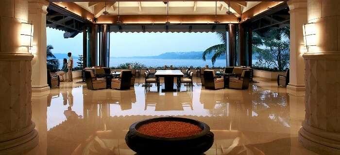 Lobby of Goa Marriot Resort & spa