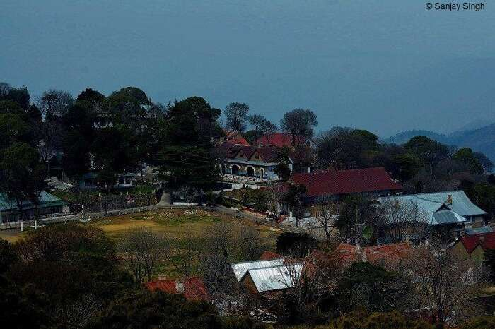 A snap of the quaint hill station of Kasauli