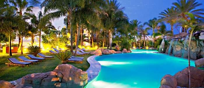 Amazing pool at the Meliá Marbella Banús in Spain