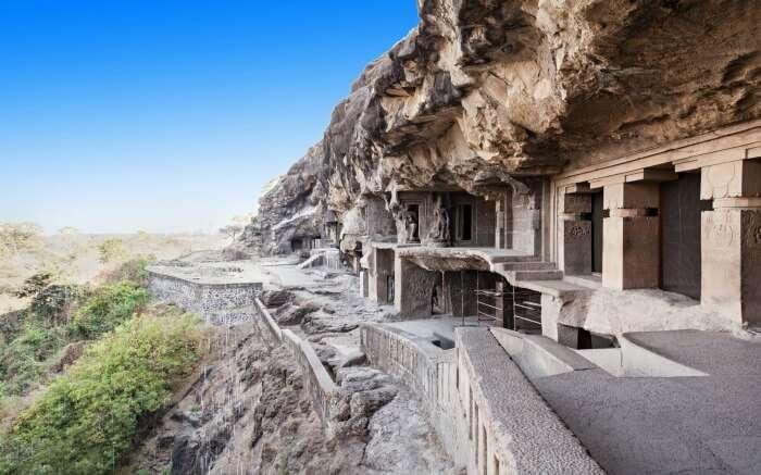 Ellora Caves speak of a legendary past