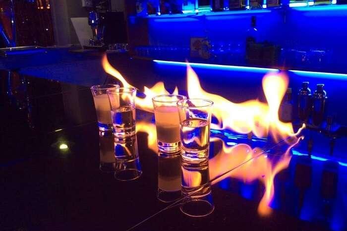An elegant snap of the La Rhumerie bar in Cambodia