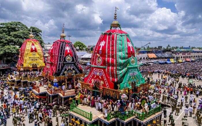 Rath Yatra celebration in Gujarat
