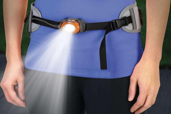 Illuminating belt