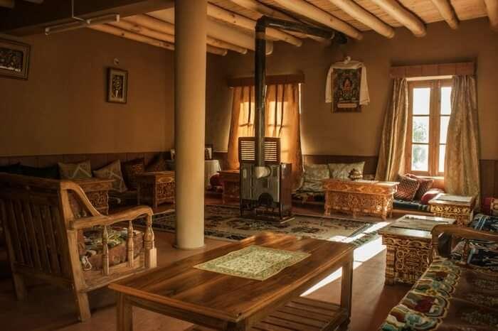 Interiors of Mandrava homestay