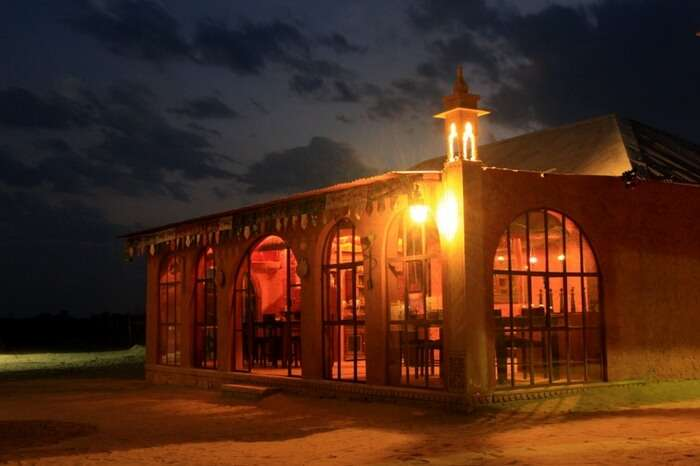 The glorious view of Damodara Desert Camp