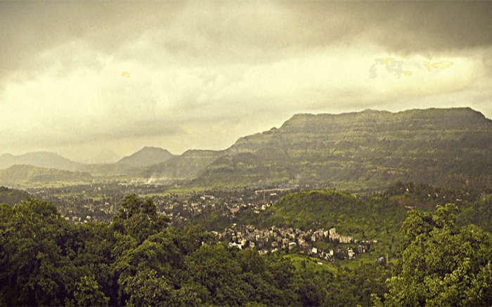 Lovely landscape of Khopoli