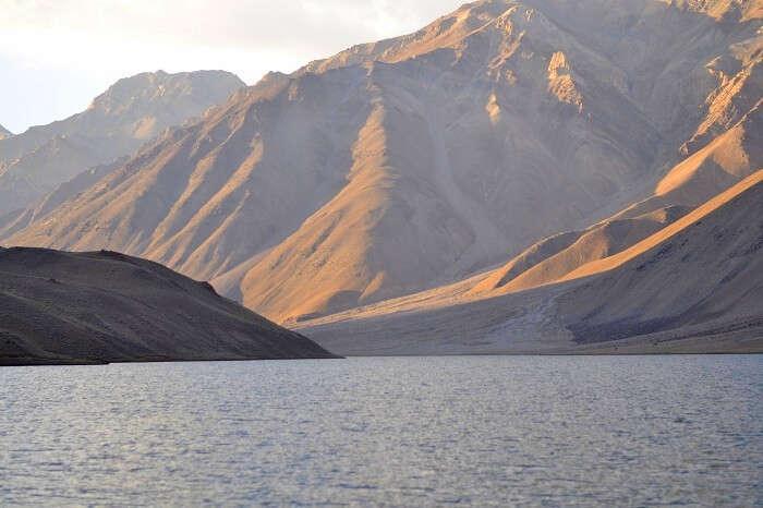 Chandratal Lake in Spiti