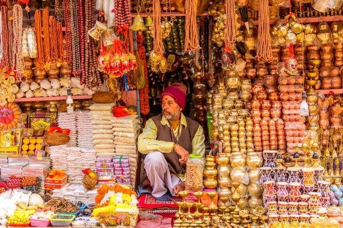 Shopkeeper in Godowlia