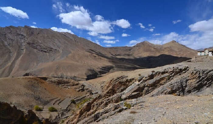 mountains in kaza