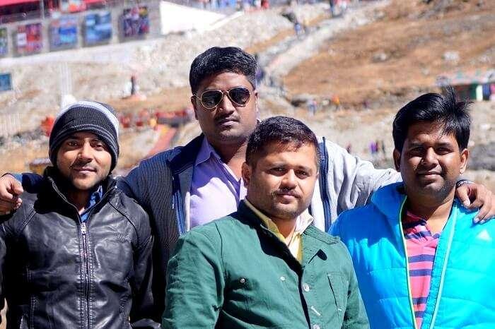 The 4 conquistadors of Sikkim