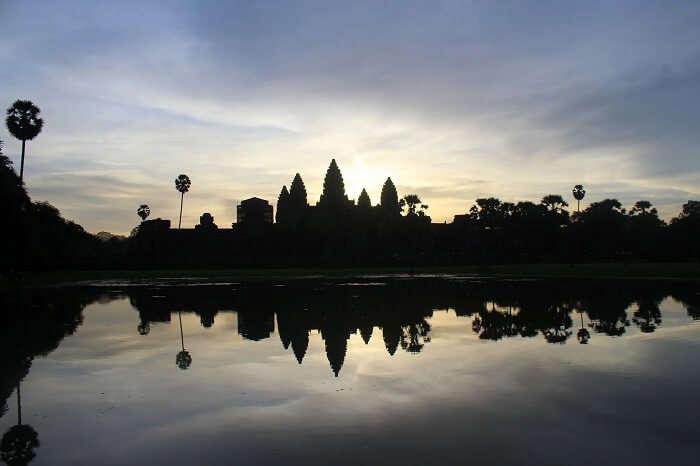 Morning beauty of Angkor Wat Temple