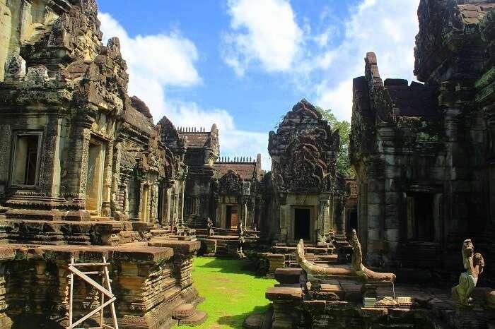 Architecture of temples in Cambodia