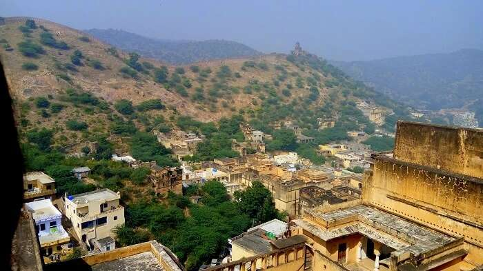 View from the top of the Nahargarh Fort