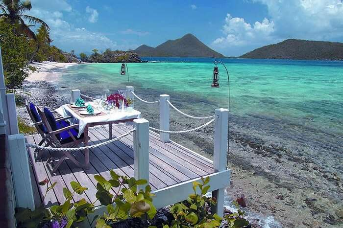 A beautiful snap taken at the Little Thatch Island of British Virgin Islands