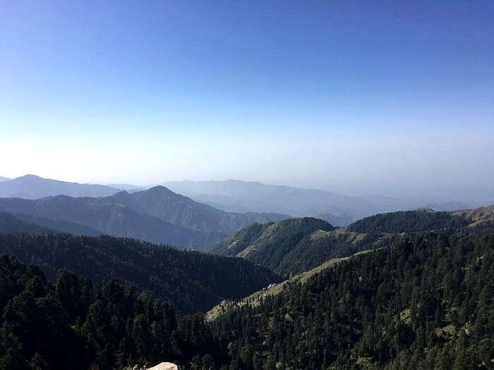 Peaks visible from Dalhousie