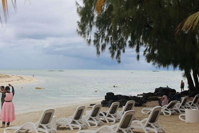 shorelines of white sandy beach