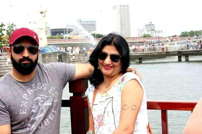 Photosession at Marina Bay