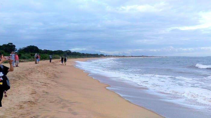 Beach next to Yala National Park