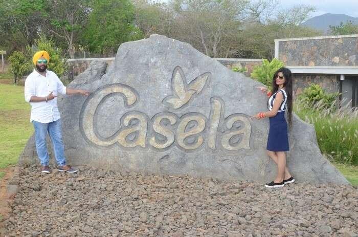 Couple at Casela Park