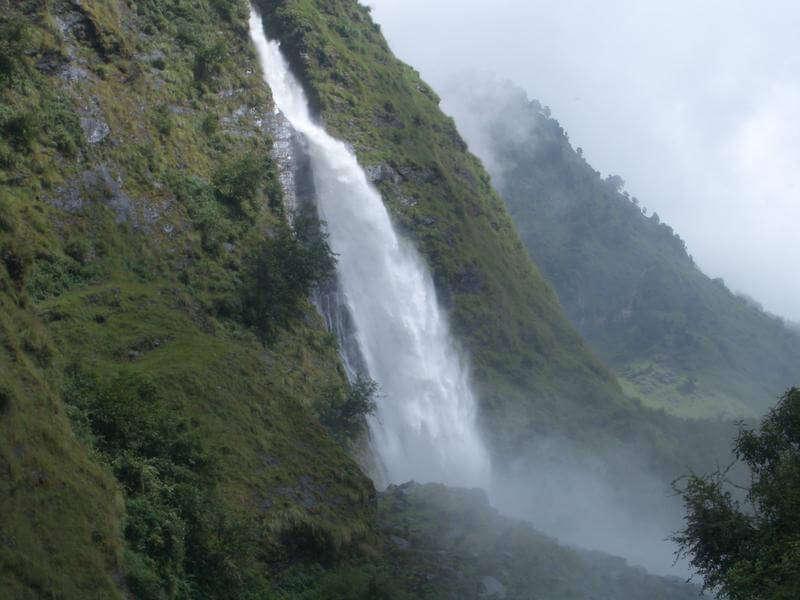 Rudradhari Waterfall near Kausani
