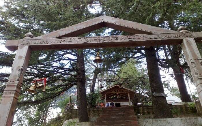 Entrance of Shiva Temple in Mukteshwar