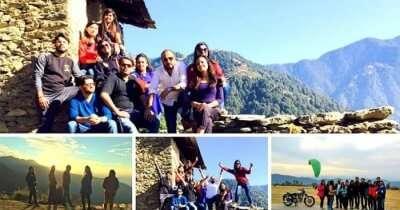 Neha on a weekend trip to Bir Billing