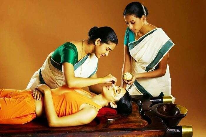 Ayurvedic massages in Kerala