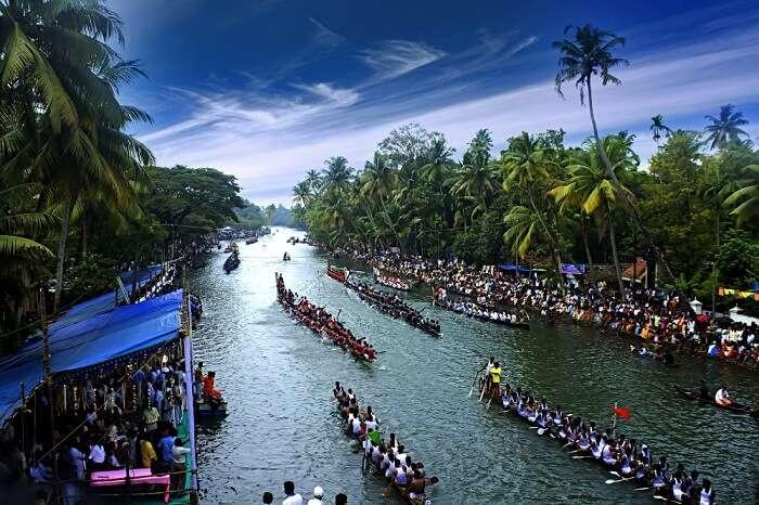 Nehru Snake boat race in kerala