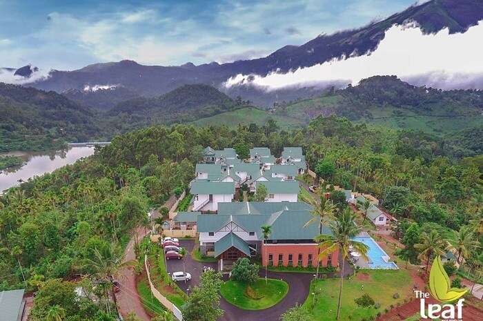 the leaf resort in Munnar