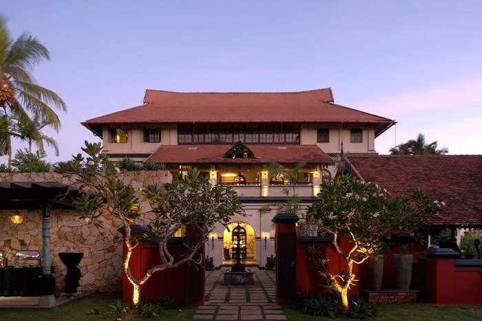 Villa Maya restaurant in Trivandrum